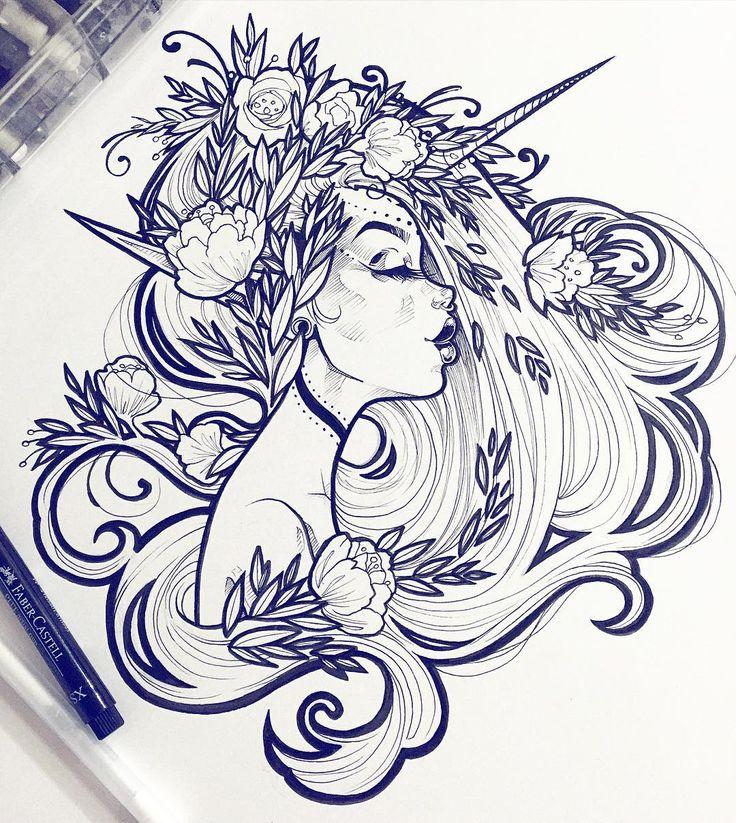 Картинки красивые арт для срисовки