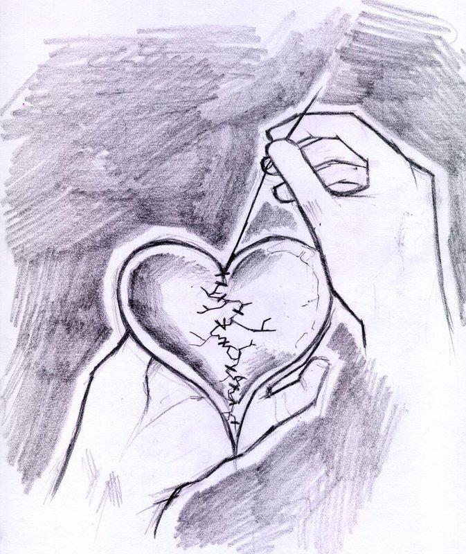 рисунки на тему любви карандашом процесс