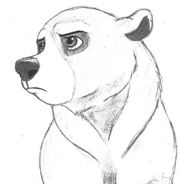 Рисунки животных простым карандашом легкие для срисовки легкие
