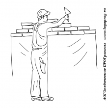 Рисунки ко дню строителя карандашом (15 фото)