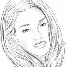 Рисунки карандашом портреты поэтапно (32 фото)