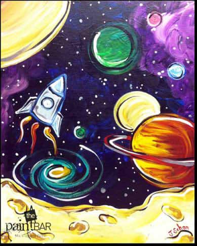 Рисунки для срисовки космос (31 фото) 🔥 Прикольные ...