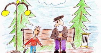 Рисунки к рассказу «Волшебное слово» карандашом (45 фото)