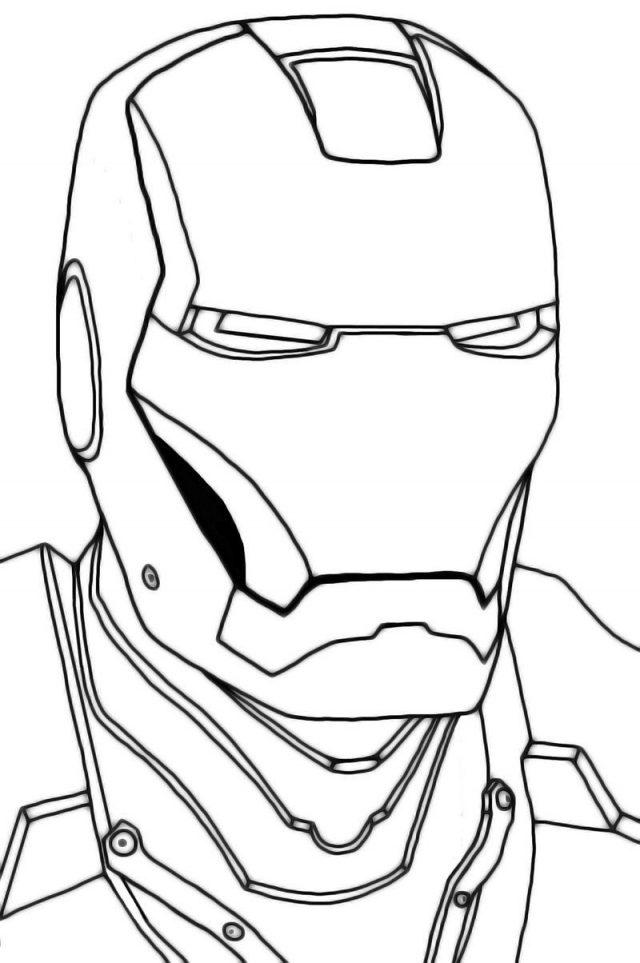 Рисунки для срисовки железный человек (25 фото ...