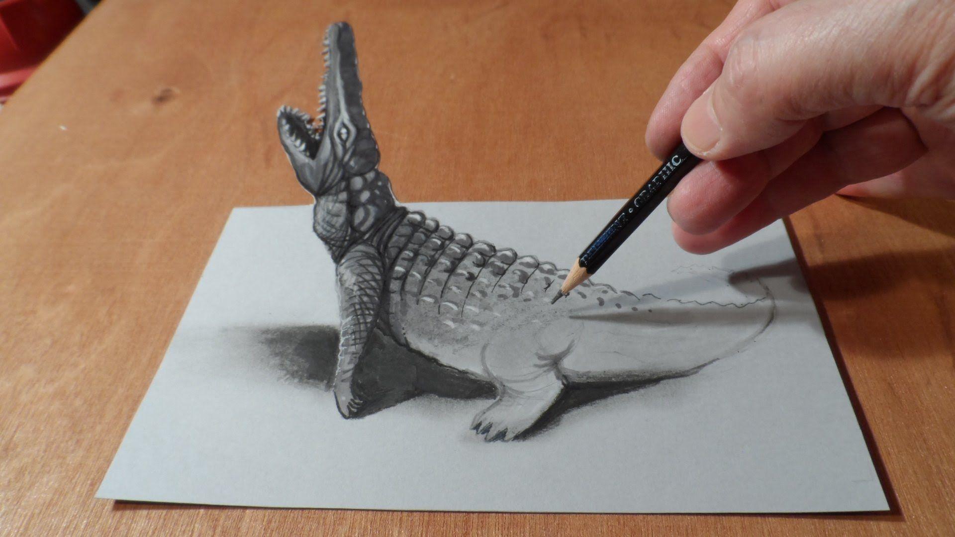 объемные рисунки животных игровая