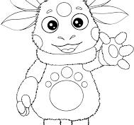 Рисунки для срисовки Лунтик (15 фото)