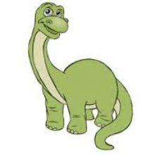 Рисунки для срисовки динозавры для детей (32 фото)