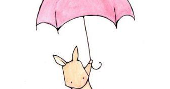 Рисунки кролика карандашом для срисовки (27 фото)