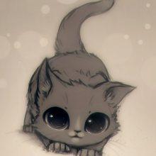 Картинки смешных животных для срисовки (31 фото)