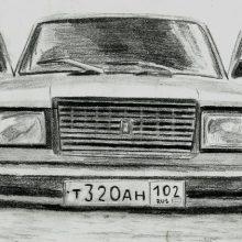 Рисунки карандашом машины БПАН (38 фото)