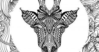 Рисунки для срисовки мандалы-животные (25 фото)