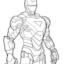 Рисунки для срисовки железный человек (25 фото)