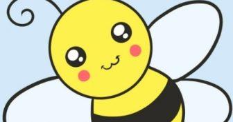 Рисунки пчелы карандашом для срисовки (30 фото)