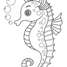 Рисунки карандашом морской конек (29 фото)