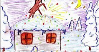 Рисунки к рассказу «Серебряное копытце» карандашом (16 фото)