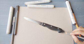 3Д рисунки карандашом (63 фото)