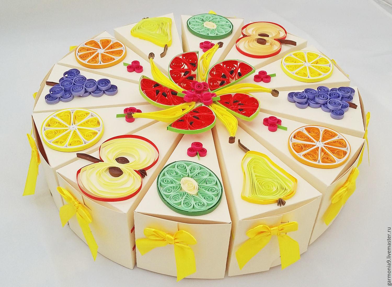 картинки торт из коробочек месте жителей