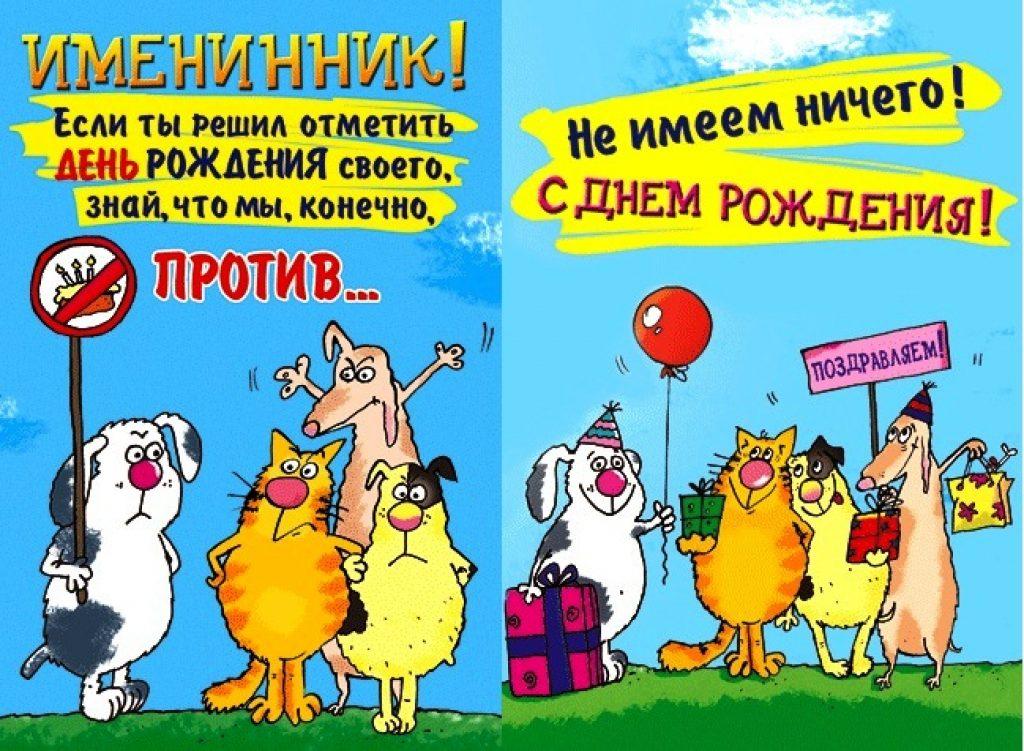 поздравление с днем рождения открытки приколы хорошо декорирует