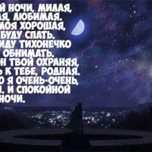 Пожелания спокойной ночи в стихах (19 фото)