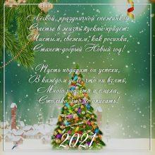Пожелания на Новый Год 2021 (35 фото)