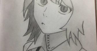 Крутые рисунки аниме карандашом (29 фото)