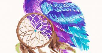 Милые картинки совушек для срисовки (29 фото)