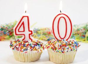 Пожелания с юбилеем 40 лет (17 фото)