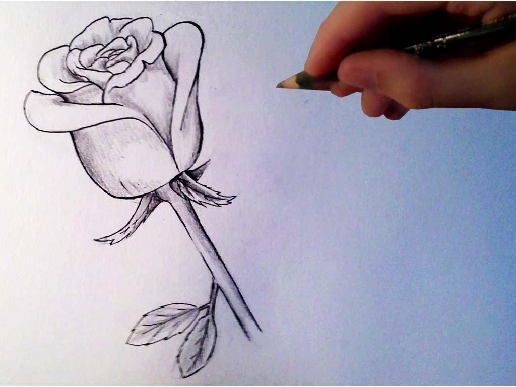 Картинки которые легко рисовать карандашом