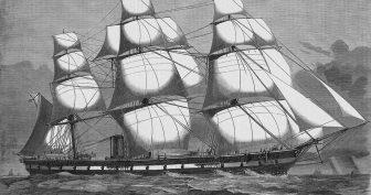 Рисунки парусника в море карандашом (28 фото)