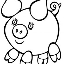 Рисунки для срисовки для детей (34 фото)
