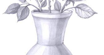 Красивые рисунки цветов для срисовки (30 фото)