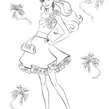 Рисунки карандашом модных девочек (35 фото)