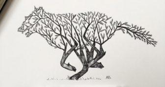 Картинки для срисовки черной ручкой (25 фото)
