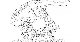 Рисунки кораблей карандашом для детей (27 фото)