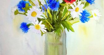 Картинки для срисовки красивые букеты цветов (32 фото)