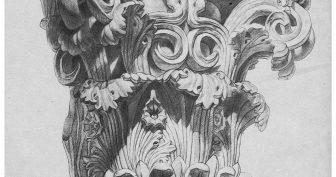 Рисунки гипсовых фигур карандашом (25 фото)