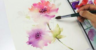 Картинки для срисовки акварелью для начинающих (30 фото)