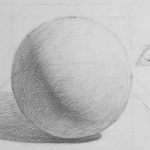 Рисунки геометрических фигур карандашом с тенью (51 фото)