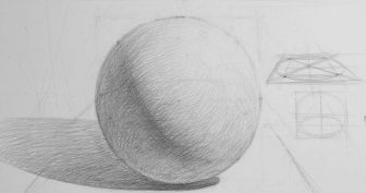 Рисунки геометрических фигур карандашом с тенью (21 фото)