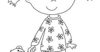 Рисунки для срисовки девочек в пижамах (26 фото)
