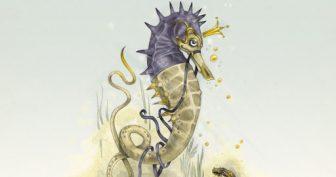 Картинки для срисовки акварелью животные (26 фото)