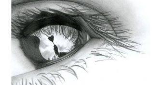 Рисунки карандашом боль (27 фото)