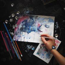 Рисунки на А4 для срисовки (32 фото)