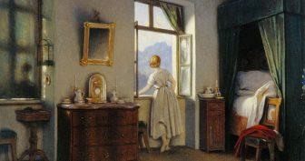 Рисунки карандашом девочка смотрит в окно (15 фото)