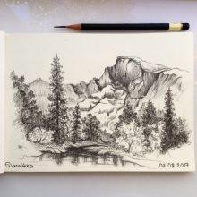 Простые рисунки черным карандашом (31 фото)