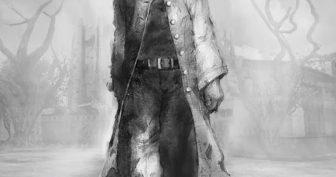 Черно-белые рисунки для срисовки со сталкерами (19 фото)
