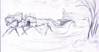 Сказочные рисунки карандашом (25 фото)