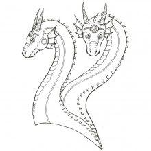Рисунки драконов для срисовки (33 фото)