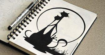 Рисунки для срисовки гелевой ручкой (35 фото)