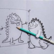 Необычные рисунки карандашом (31 фото)